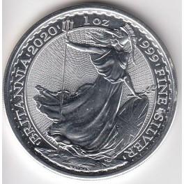 1 Unze Brittania Silber 2 Pound