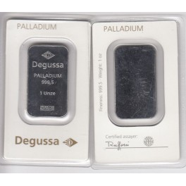 Palladiumbarren 31,1 Gramm Degussa